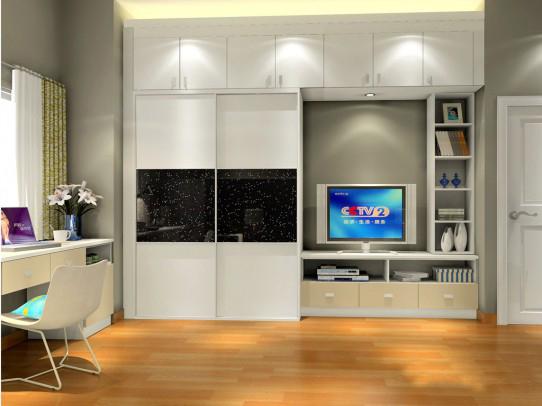 小户型充分利用定制衣柜等个性化家具 给你大空间