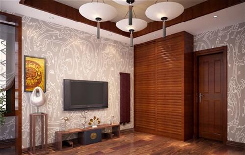 享受个性张扬 打造不一样的木地板背景墙