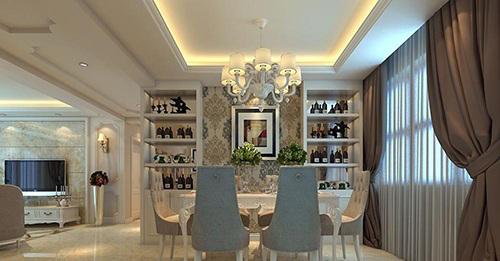欧式餐厅窗帘 浪漫优雅不失情调