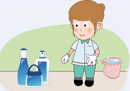 清洁剂消毒液虽好 别让好奇宝宝不慎进眼图片