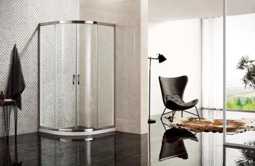 中国十大品牌淋浴房:德立C3为新婚夫妇打造爱巢淋浴房