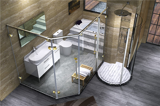 法兰浴王知名淋浴房品牌:淋浴房安装事项