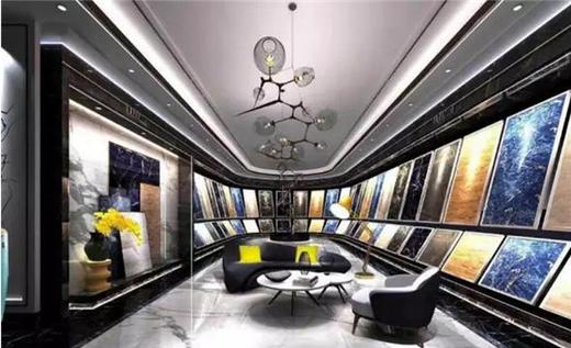 中国著名瓷砖品牌:缇香瓷砖展厅化蛹成蝶-中国建材图片