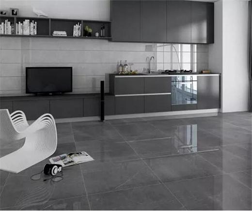 搭配柔和色调的木纹地砖,让整体室内呈现出优雅亲和的温馨气息.
