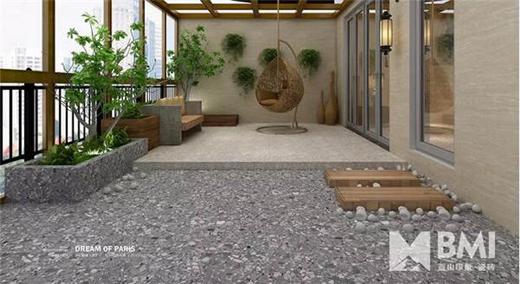 中国瓷砖知名品牌:能强陶瓷蓝山印象布拉诺磨石系列
