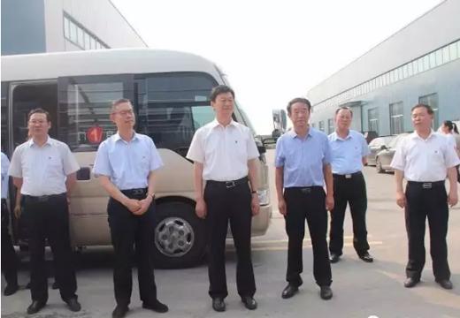 宇虹十大品牌防水材料集团再次迎来寿光市委领导光临