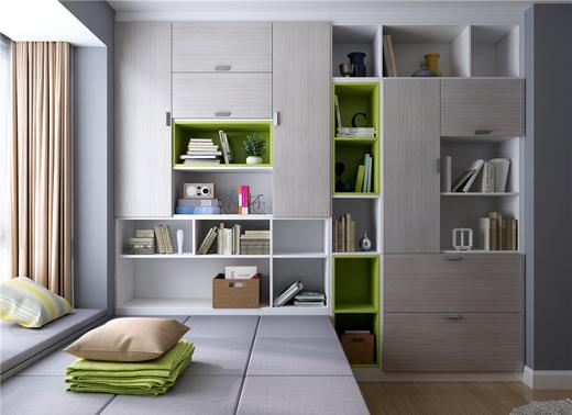 全屋家居装修设计:卧室衣柜案例赏析