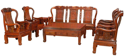 选好料·做精品:华龙红木家具知名品牌