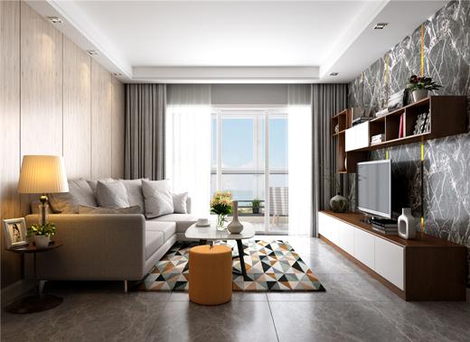 全屋家居定制的客厅整体效果有多美?