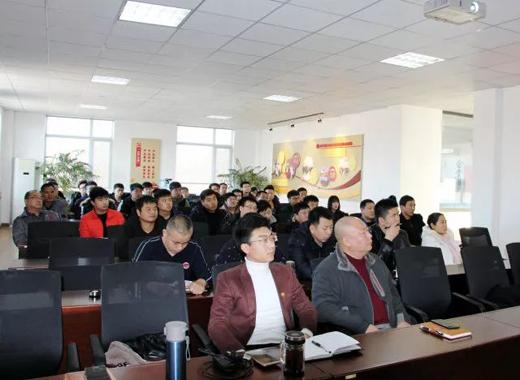 禹王技术人员职业技能提升培训正式拉开序幕