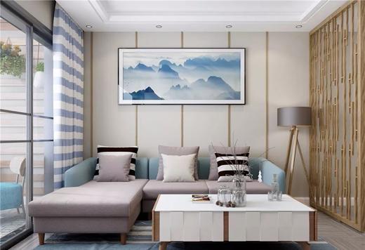 客厅有一款这样的沙发,春节亲友来了都有面儿
