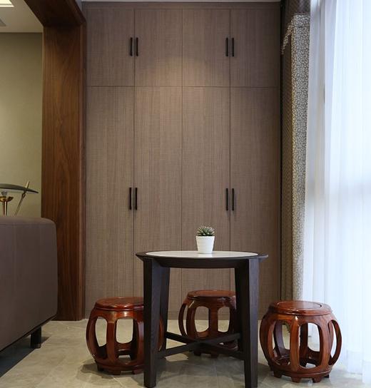 巴黎世家新中式柔光案例:云沙诗意复式楼