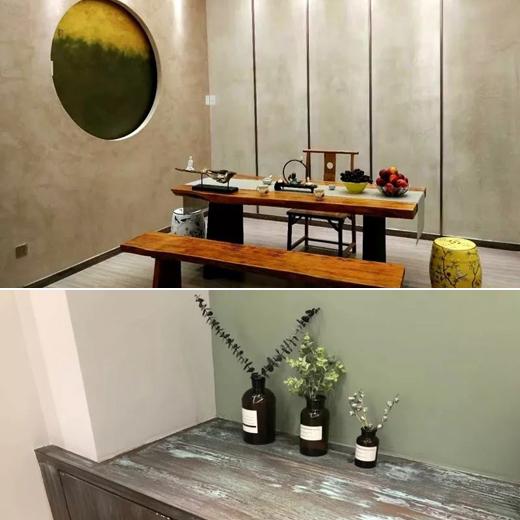 萨沃宫艺术涂料知名品牌,与厂家代表零距离探讨艺术涂料