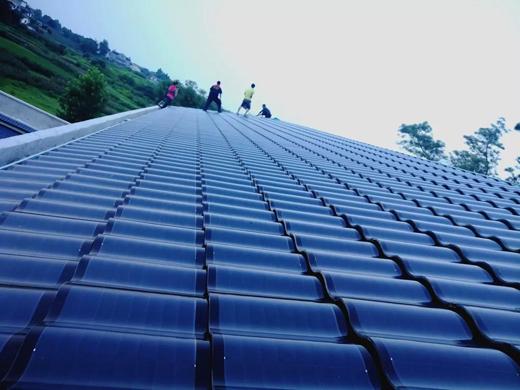 汉能汉瓦太阳能给泸县农家乐增添不一样的美