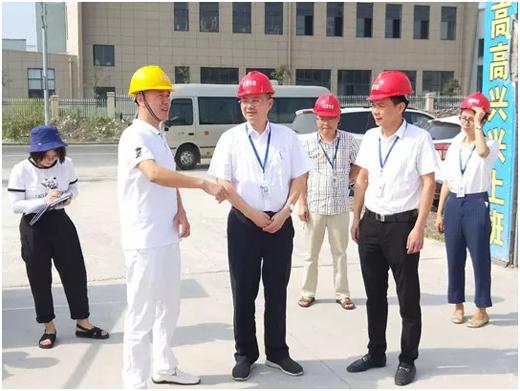 丽水开发区党工委带队调研汉的电气科技产业园