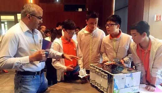 """中国初中生创新""""教室灯光系统"""" 拿下世界大奖"""
