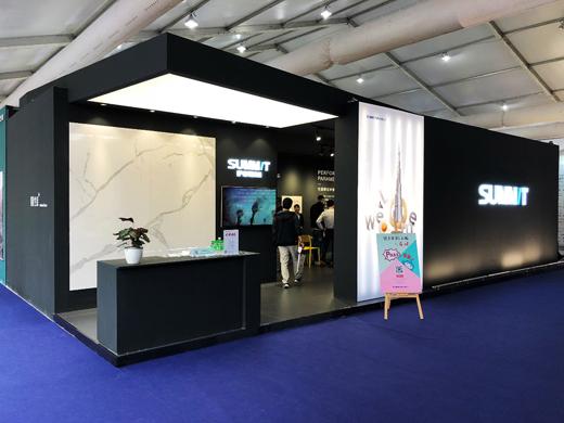 一站式工程集采展示馆+新品展,看萨米特玩转双主场