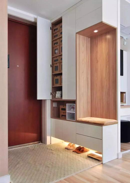 玉墅生态板丨鞋柜设计与板材碰撞!