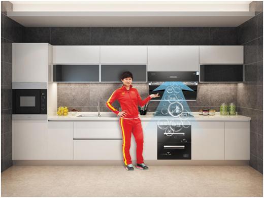乐铃厨卫电器:简单生活 由厨房开始