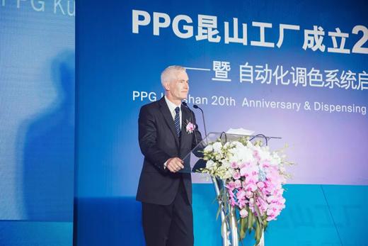 PPG投资170万美元对昆山工厂涂料生产设施改造升级