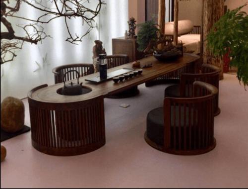 新中式办公家具,办公室装修新风尚