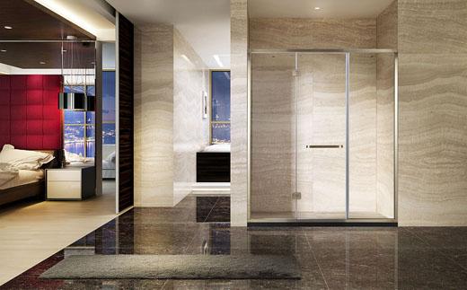 淋浴房的五金配件到底有哪些?你知道吗?