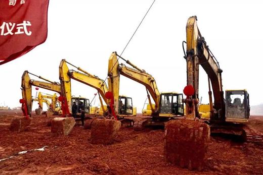1700亩,10条线,年产能7200万方:蒙娜丽莎藤县生产基地奠基