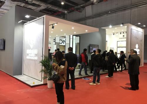冠军磁砖上海建博首发新品 重新定义大板美学