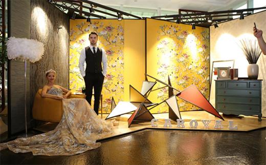 可罗雅壁纸著名品牌与文艺女神江一燕的契机美理念