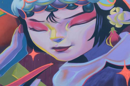 「为爱上色」艺术+携手90后中国艺术家,绘出热情蓉城中的柔情