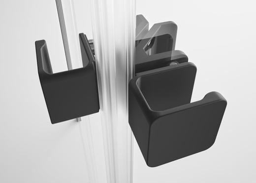 德国淋浴房著名品牌菲派,如影随形的高级黑视觉美学
