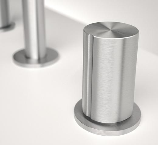 意大利卫浴品牌Zazzeri,新款不锈钢龙头闪亮登场