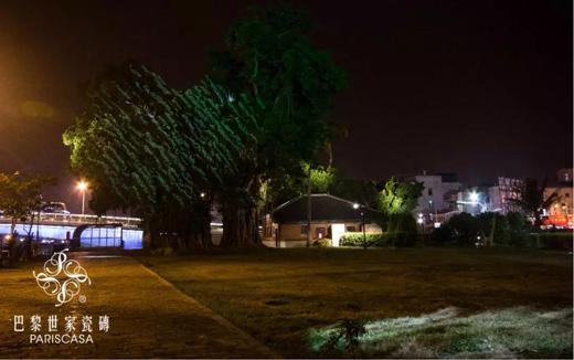 袁宗南 灯光点亮历史的传承,台南运河夜景