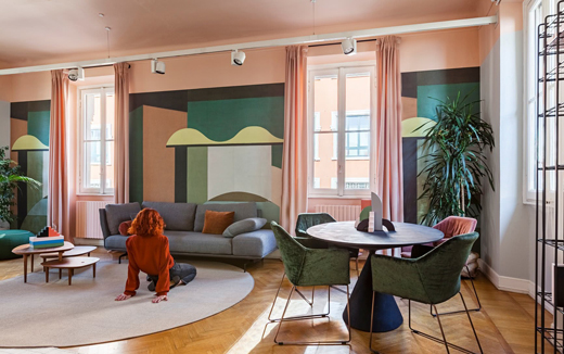 意大利家具品牌Saba与Milo工作室打造梦幻氛围空间
