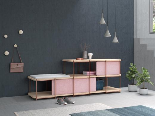 西班牙知名家具品牌Momocca,开启储物架的新式生活