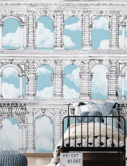 天真系列壁纸让你返老还童,意大利壁纸品牌WallPepper