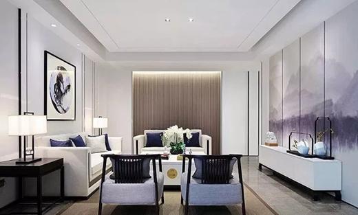 康华木门新中式客厅设计让您爱上家