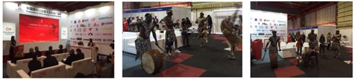 金兰集团铝材亮相 2018南非约翰内斯堡国际建材展览会