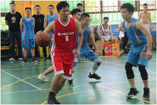 """首届中山市""""淋浴房杯""""篮球邀请赛举行"""