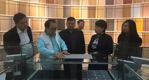 北京大兴区政协副主席荣俊艳走访调研富思特