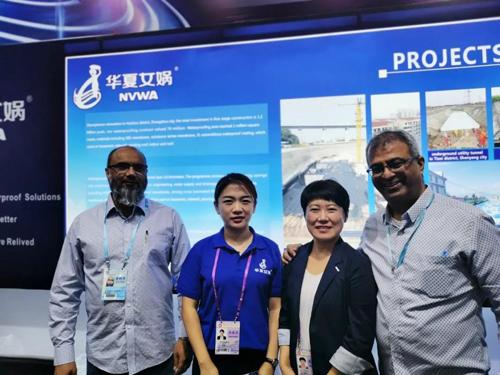 国际舞台上的防水风采!众防水材料企业亮相广交会
