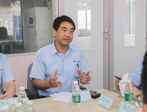 佛山龙江环运局、龙江环境保护促进协会一行莅临东莞大宝化工考察