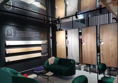 兔宝宝地板 :五星城市展厅,实现视觉、触觉、感觉新融合