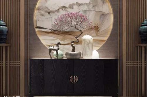 中式家装必入的红木鞋柜,环保结实高颜值!