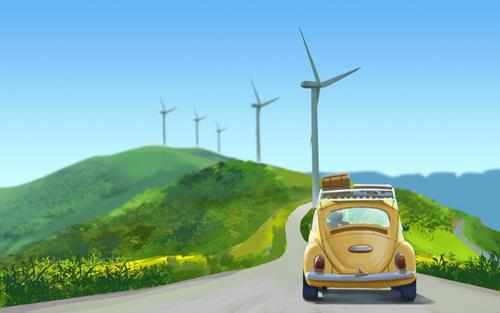 待疫情退散 路航卫士汽车照明伴你开启自驾旅行