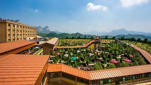 苏净空气能又一度假酒店节能改造完成 冷暖都节能