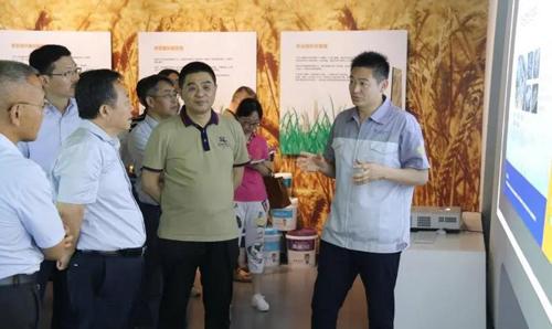 安徽省委常委、省人大副主任宋国权 莅临铜陵万华产业园调研考察
