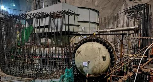 东方电气:国内最高水头抽蓄电站蜗壳