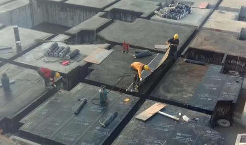 丽天防水材料项目再添新风景!攻城拔寨、高歌勇进