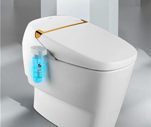 九牧全球首台消毒马桶,为用户构筑三道消毒防线